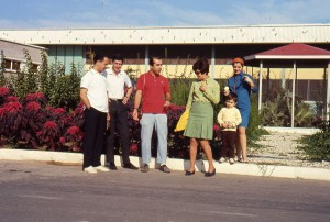 1968 - Holidaying in  Mahmoudabad with NIOC colleagues