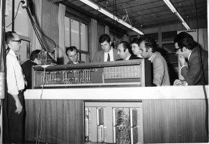 1971-Checking Remote  Control System in Siemans Karlsruhe