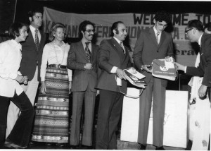 1973-Tehran-Winners of Keyhan International Car Rally