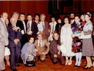 1978-Institute of Armenian Music, London. Summing-up party