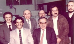 Bornaa colleagues - 1976