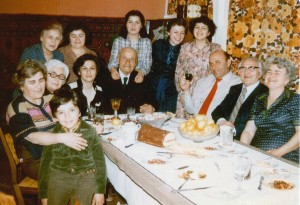 With maternal relatives, Yerevan - 1980
